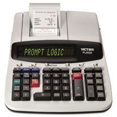 Pl8000 One-Color Prompt Logic Printing Calculator, Black Print, 8 Lines/sec