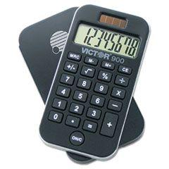 900 Antimicrobial Pocket Calculator, 8-Digit Lcd