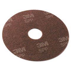 "Surface Preparation Pad, 13"" Diameter, Maroon, 10/carton"
