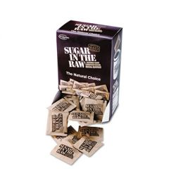 Unrefined Sugar Made From Sugar Cane, 200 Packets/box, 2 Boxes/carton