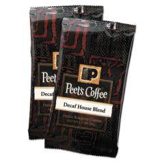 Coffee Portion Packs, House Blend, Decaf, 2.5 Oz Frack Pack, 18/box