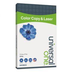 DELUXE COLOR COPY & LASER PAPER, 98 BRIGHT, 28LB, 11 X 17, WHITE, 500/REAM