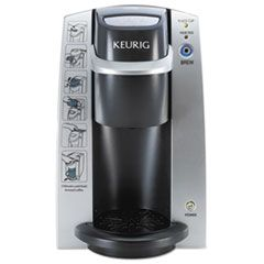 K130 Commercial Brewer, 7 X 10, Silver/black