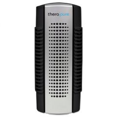 Mini Plug-In Collection Blade Air Purifier, One Speed, Black/silver