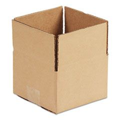 """FIXED-DEPTH SHIPPING BOXES, REGULAR SLOTTED CONTAINER (RSC), 9"""" X 6"""" X 4"""", BROWN KRAFT, 25/BUNDLE"""