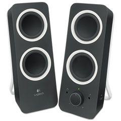 Z200 Multimedia 2.0 Stereo Speakers, Black