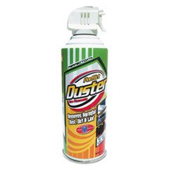 Non-Flammable Power Duster, 10 Oz Can, 2/pk