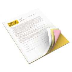 REVOLUTION CARBONLESS 4-PART PAPER, 8.5X11, CANARY/GOLDENROD/PINK/WHITE, 5, 000/CARTON