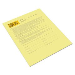 REVOLUTION DIGITAL CARBONLESS PAPER, 1-PART, 8.5 X 11, CANARY, 500/REAM