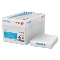 VITALITY 100% RECYCLED MULTIPURPOSE PAPER, 92 BRIGHT, 20LB, 8.5 X 11, WHITE, 500 SHEETS/REAM, 10 REAMS/CARTON