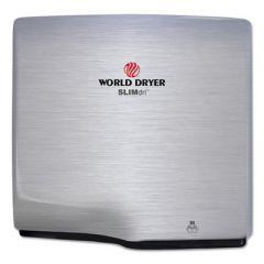 Slimdri Hand Dryer, Stainless Steel, Brushed