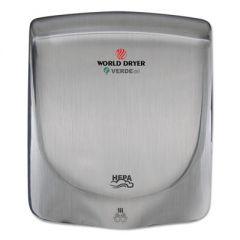 Verdedri Hand Dryer, Stainless Steel, Brushed