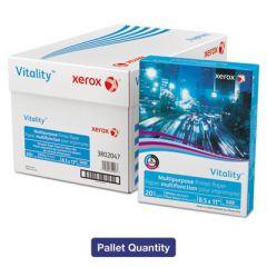 VITALITY MULTIPURPOSE PRINT PAPER, 92 BRIGHT, 20LB, 8.5 X 11, WHITE, 500 SHEETS/REAM, 10 REAMS/CARTON, 40 CARTONS/PALLET