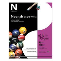 BRIGHT WHITE CARD STOCK, 96 BRIGHT, 65LB, 8.5 X 11, 250/PACK