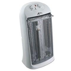 "Quartz Tower Heater, 13 1/4""w X 10 1/8""d X 23 1/4""h, White"