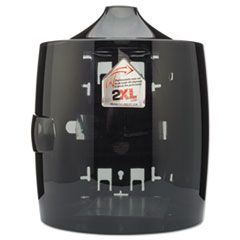 Contemporary Wall Mount Wipe Dispenser, Smoke Gray