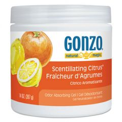 Odor Absorbing Gel, Scentillating Citrus, 14 Oz Jar