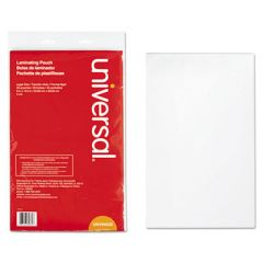 """LAMINATING POUCHES, 3 MIL, 9"""" X 14.5"""", MATTE CLEAR, 25/PACK"""
