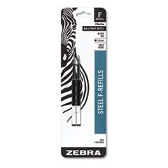 F-REFILL, BOLD POINT, BLACK INK, 2/PACK