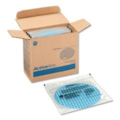 Activeaire Deodorizer Urinal Screen, Coastal Breeze, Blue, 12/ctn