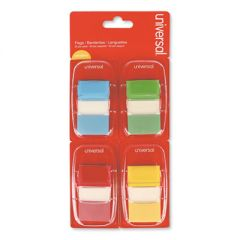 """DELUXE POP-UP PAGE FLAGS, 1"""" X 1 3/4"""", ASSORTED COLORS, 50/PACK"""