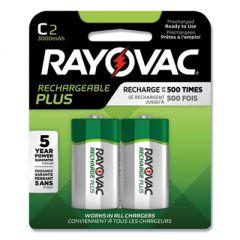 Recharge Plus Nimh Batteries, C, 2/pack