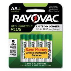 Recharge Plus Nimh Batteries, Aa, 4/pack