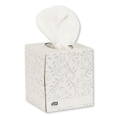 ADVANCED FACIAL TISSUE, 2-PLY, WHITE, CUBE BOX, 94 SHEETS/BOX, 36 BOXES/CARTON