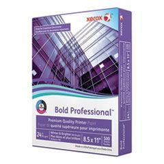 BOLD PROFESSIONAL QUALITY PAPER, 98 BRIGHT, 24LB, 8.5 X 11, WHITE, 500/REAM
