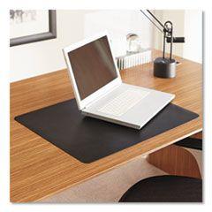 Natural Origins Desk Pad, 36 X 20, Matte, Black