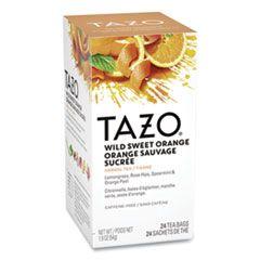 Tea Bags, Wild Sweet Orange, 24/box