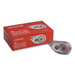 """SIDE-APPLICATION CORRECTION TAPE, NON-REFILLABLE, 1/5"""" X 393"""", 10/PACK"""