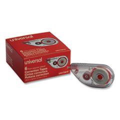 """SIDE-APPLICATION CORRECTION TAPE, 1/5"""" X 393"""", 6/PACK"""