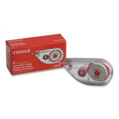 """SIDE-APPLICATION CORRECTION TAPE, 1/5"""" X 393"""", 2/PACK"""