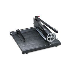 """Commercial Stack Paper Cutter, 350 Sheet Capacity, Wood Base, 16"""" X 20"""""""